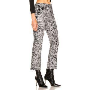 Rag & Bone Hana Leopard Patterned Ankle Jeans 24